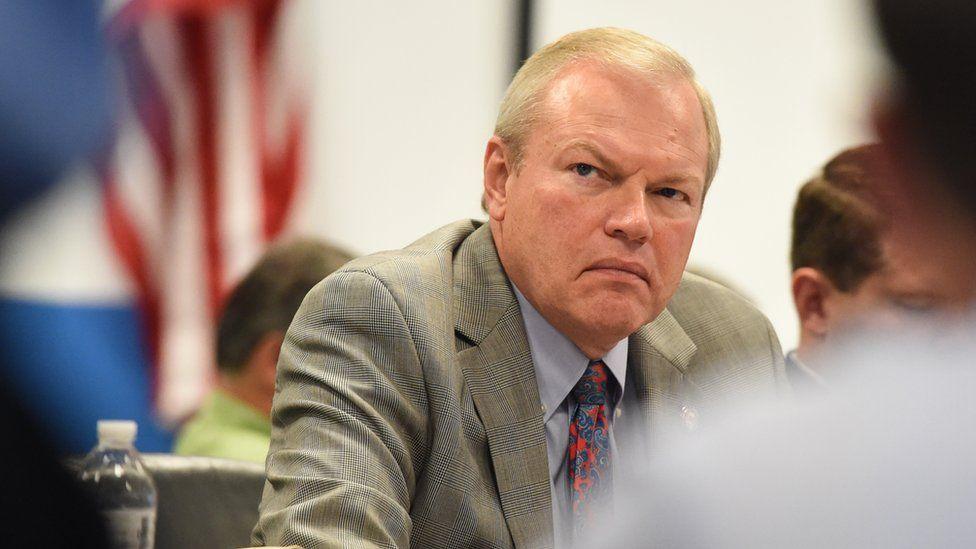 Bill Reineke during a meeting