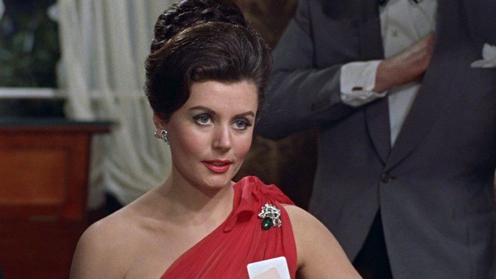 Eunice Gayson, as Sylvia Tench in Dr No