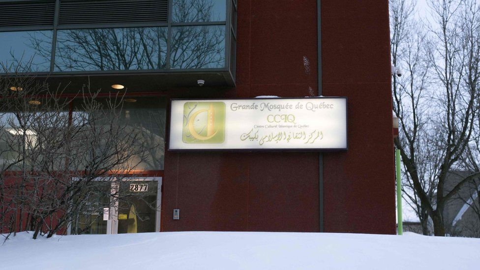 The Islamic Cultural Center of Quebec, where an attack took place on January 29, 2017