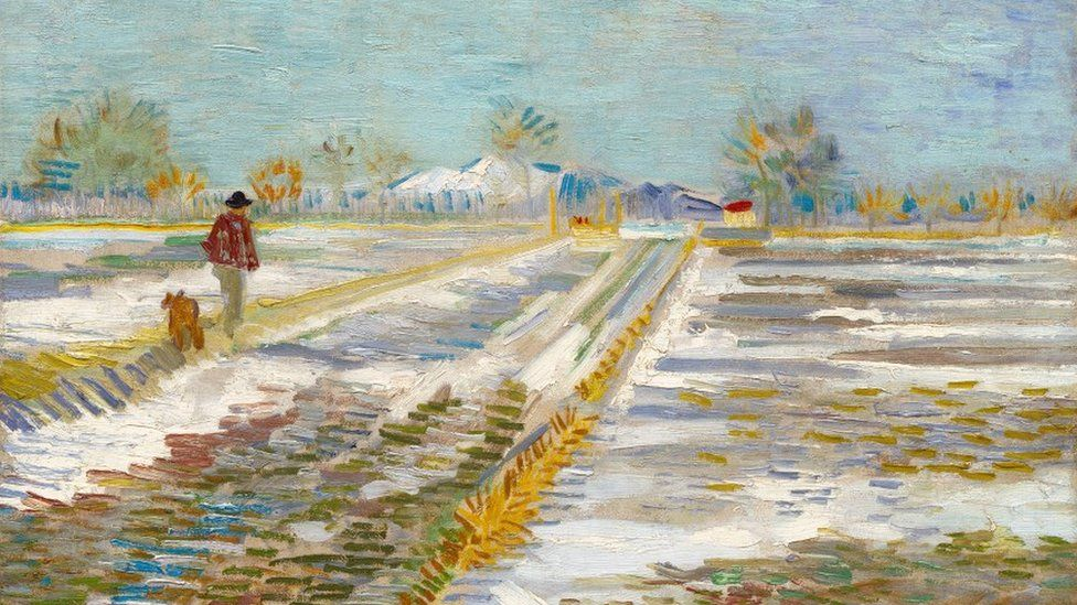 Van Gogh's Landscape With Snow