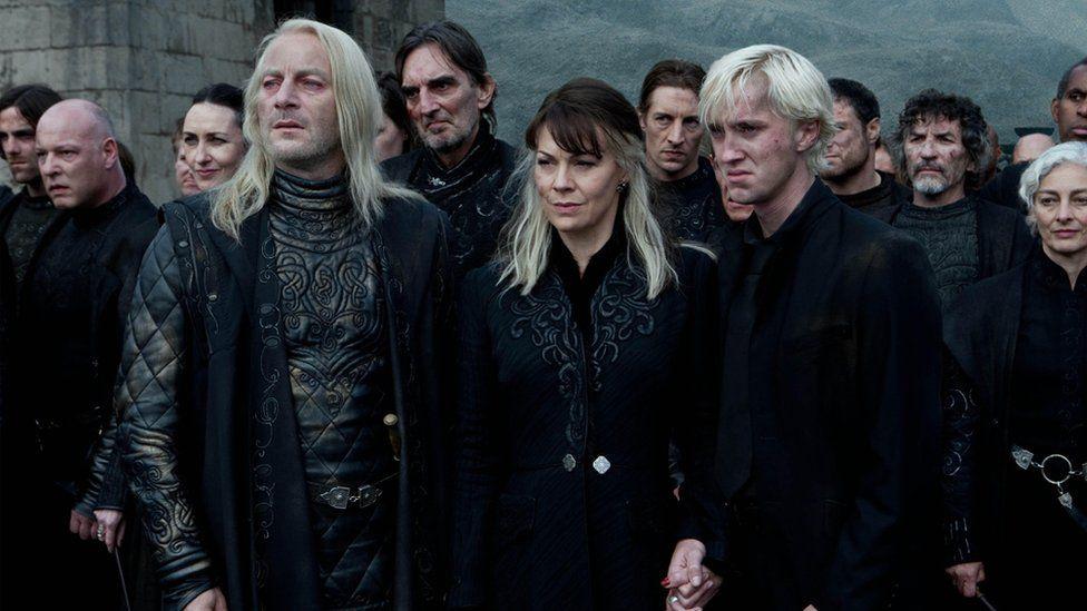 Helen McCrory in Harry Potter