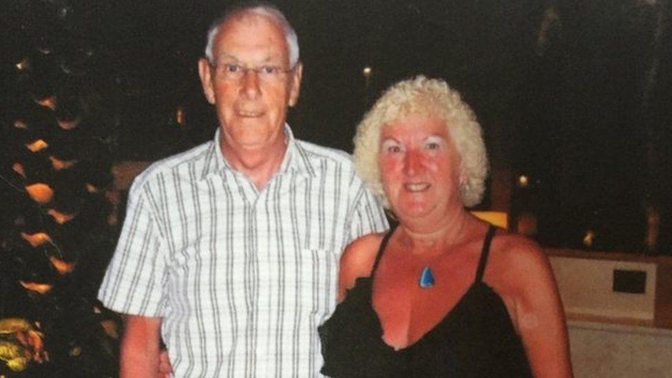 Bruce Wilkinson with his wife Rita