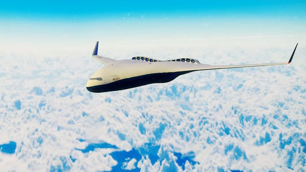 Cranfield's blended wing design
