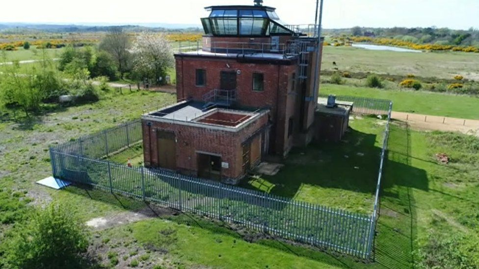 Greenham Control Tower