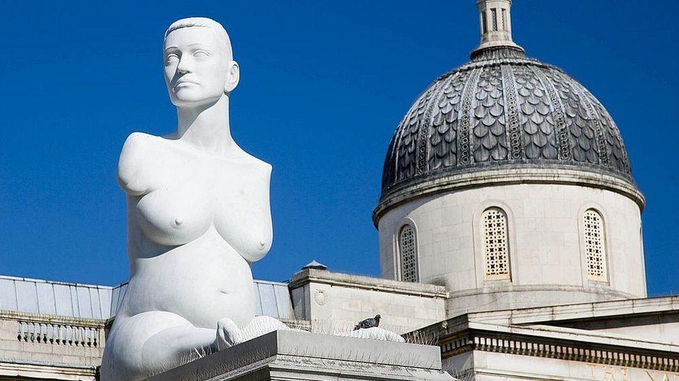 Marc Quinn's statue of Alison Lapper