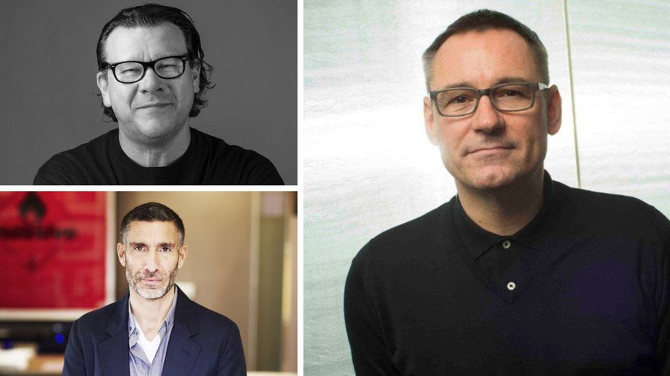 Bosses of the UK's three major record labels