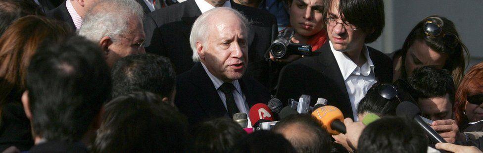 UN envoy Matthew Nimetz (file pic)