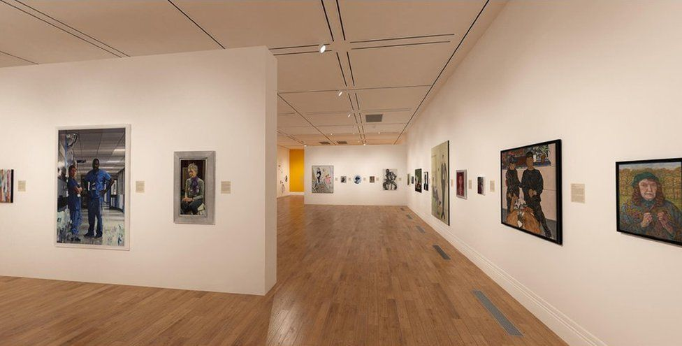 You can see BP Portrait Award 2020 at the National Portrait Gallery's online show