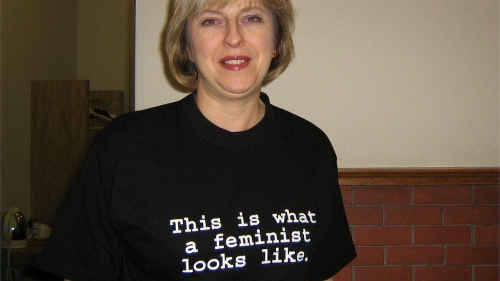Theresa May feminist T-shirt