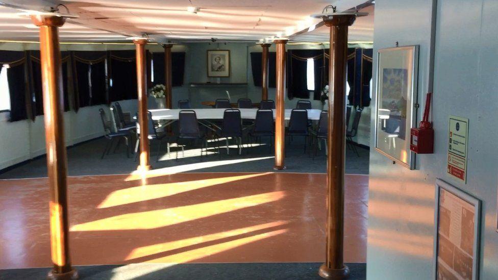 Ship's lounge