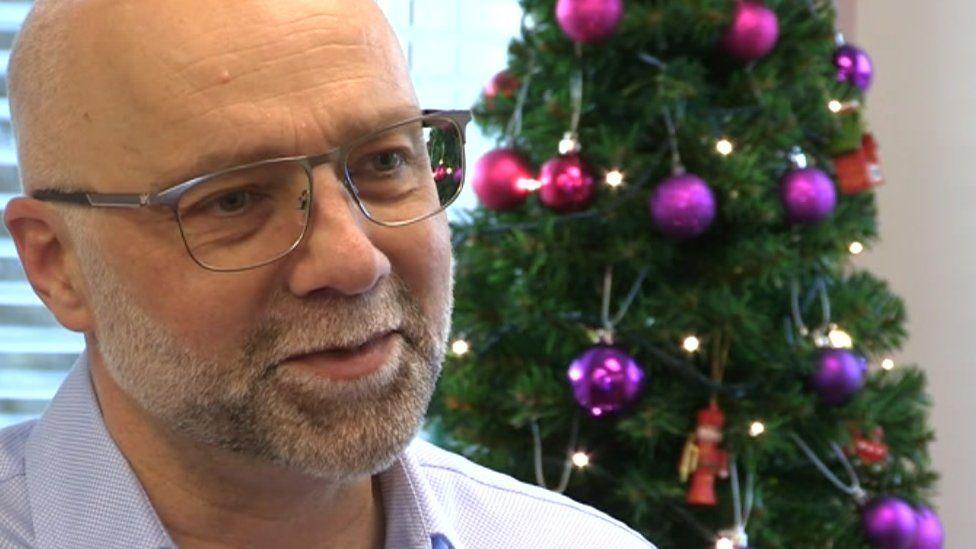 Prison Fellowship chief executive Peter Holloway