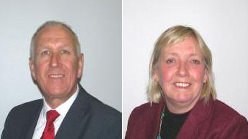Ivan Henderson and Susan Barker