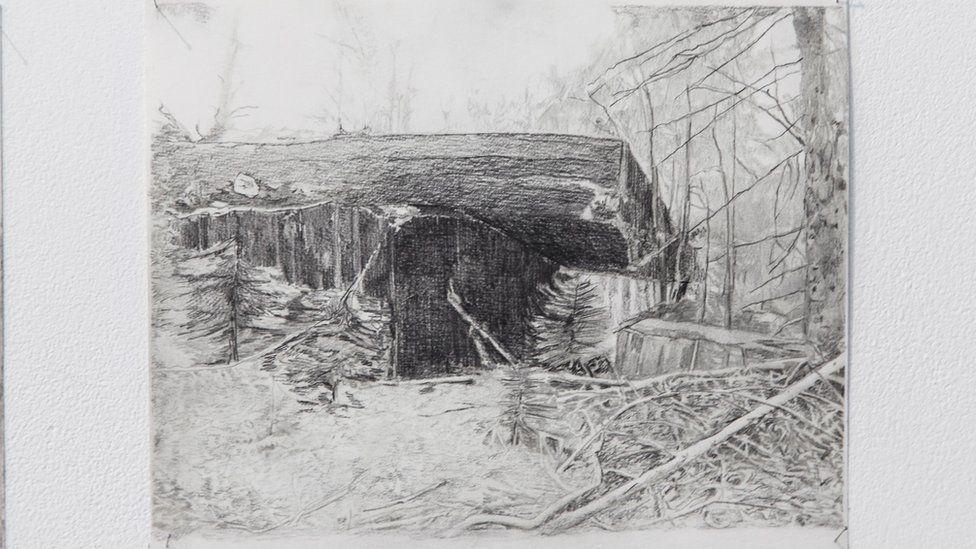 Gam Bodenhausen's drawing
