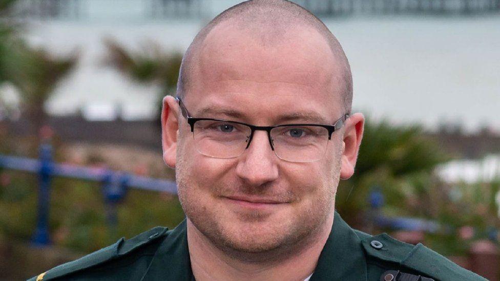 Danny Hughes, paramedic and veteran