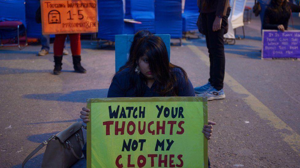 India women's protest