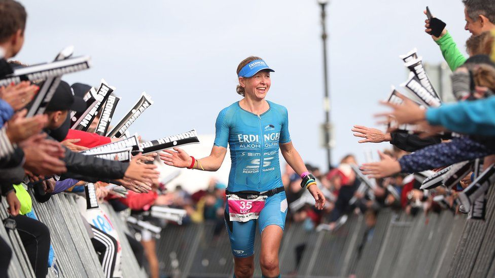 """Triple champion Lucy Gossage says Ironman Wales is """"better than"""" the World Championships"""