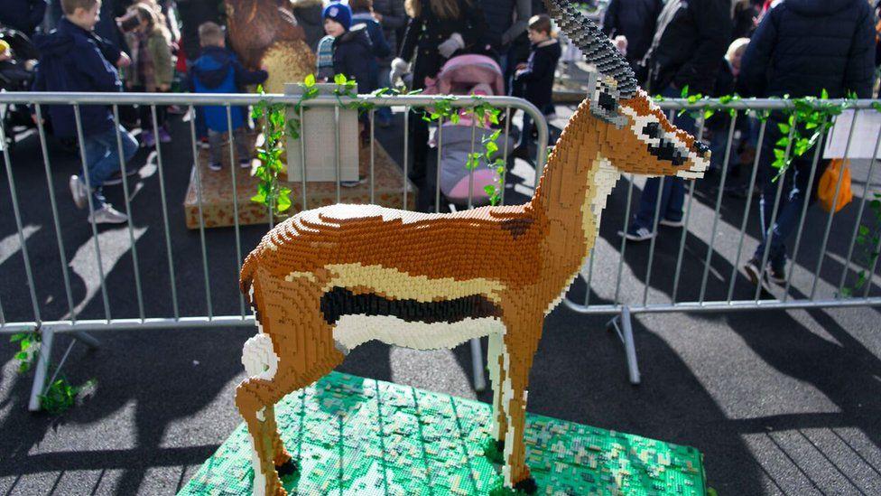 Lego gazelle