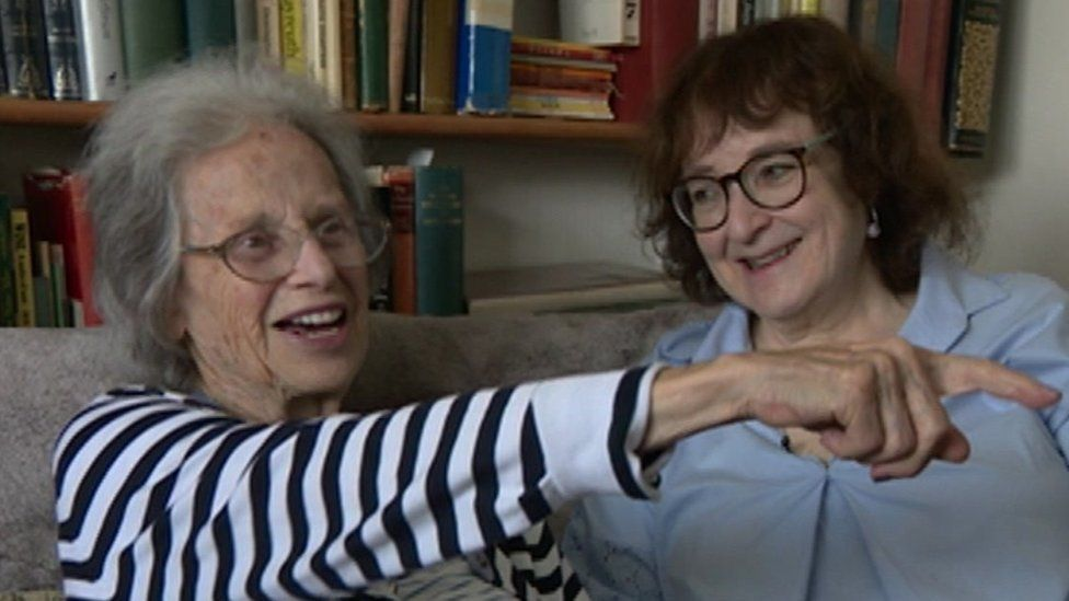 Ruth Danson (left) with her daughter Jaqueline Boronow-Danson