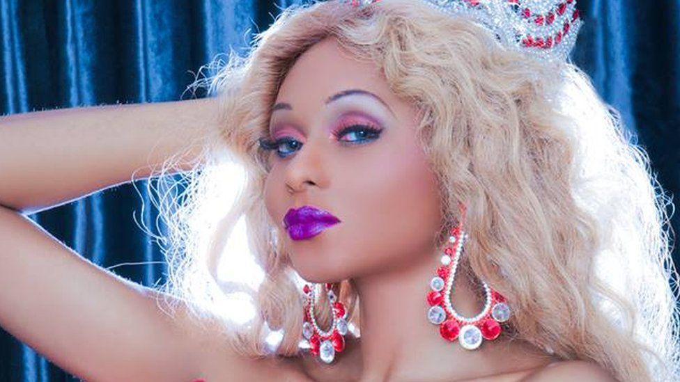 Miss Sahhara beauty queen