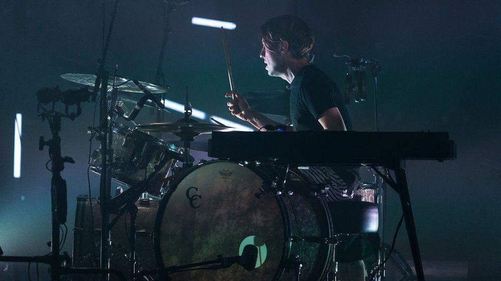 Orri Páll Dýrason performing in Australia
