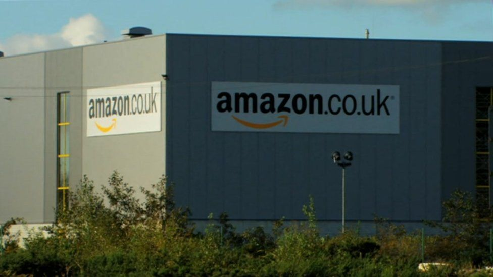 Amazon's centre in Swansea employs more than 1,200 permanent staff