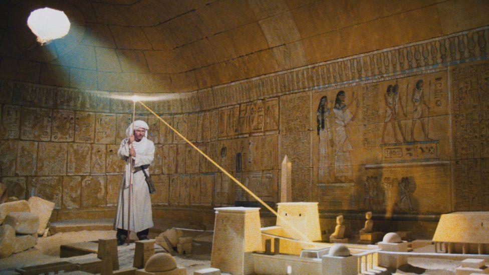 Raiders of the Lost Ark stars Harrison Ford as Indiana Jones