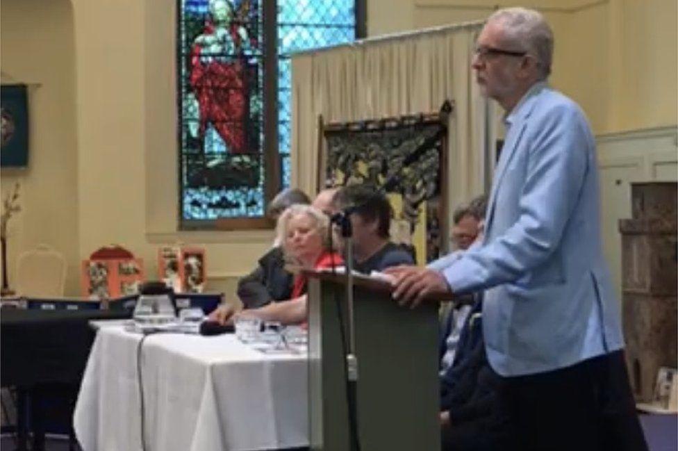 Jeremy Corbyn in Kirkcaldy