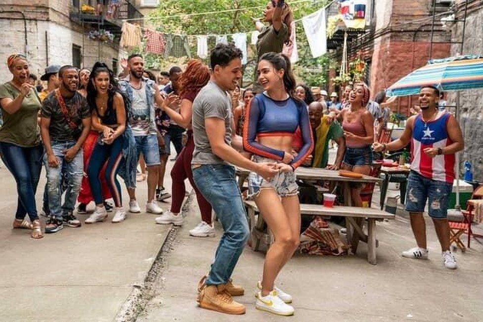 A scene from In the Heights