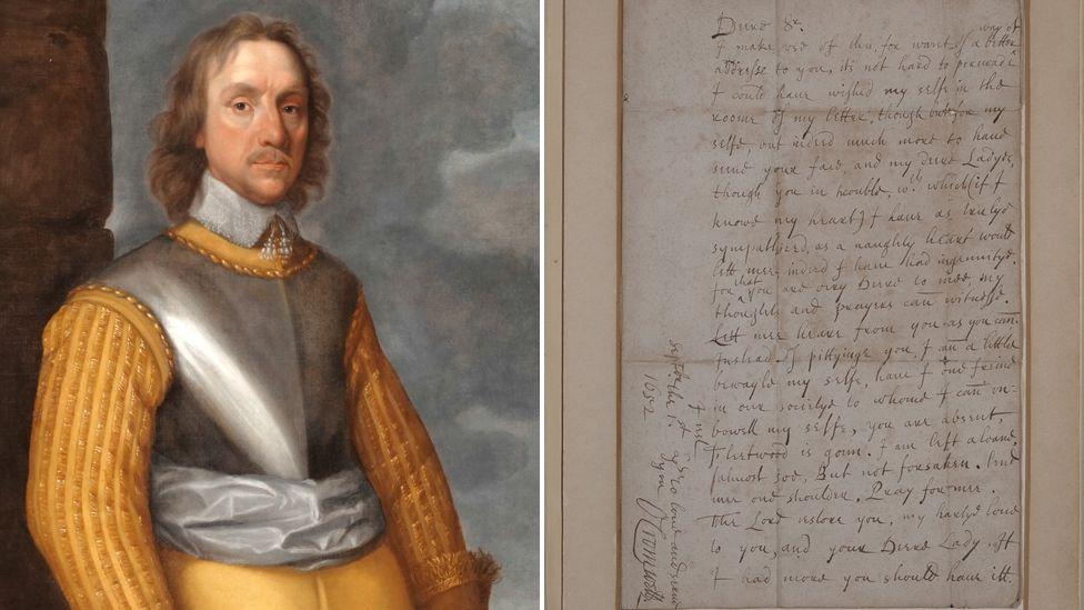 Oliver Cromwell & 1652 letter