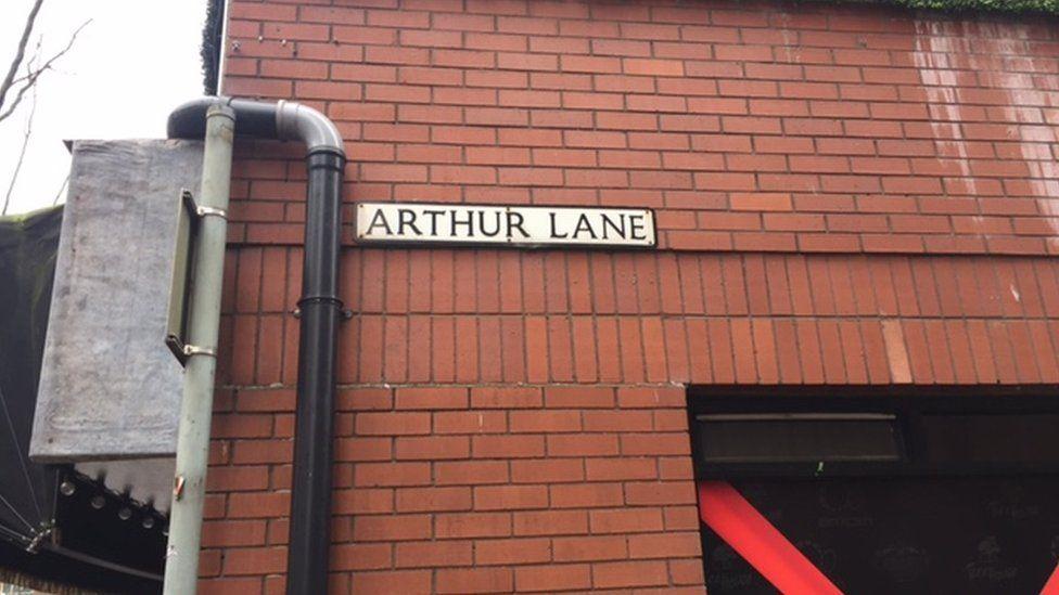Arthur Lane sign