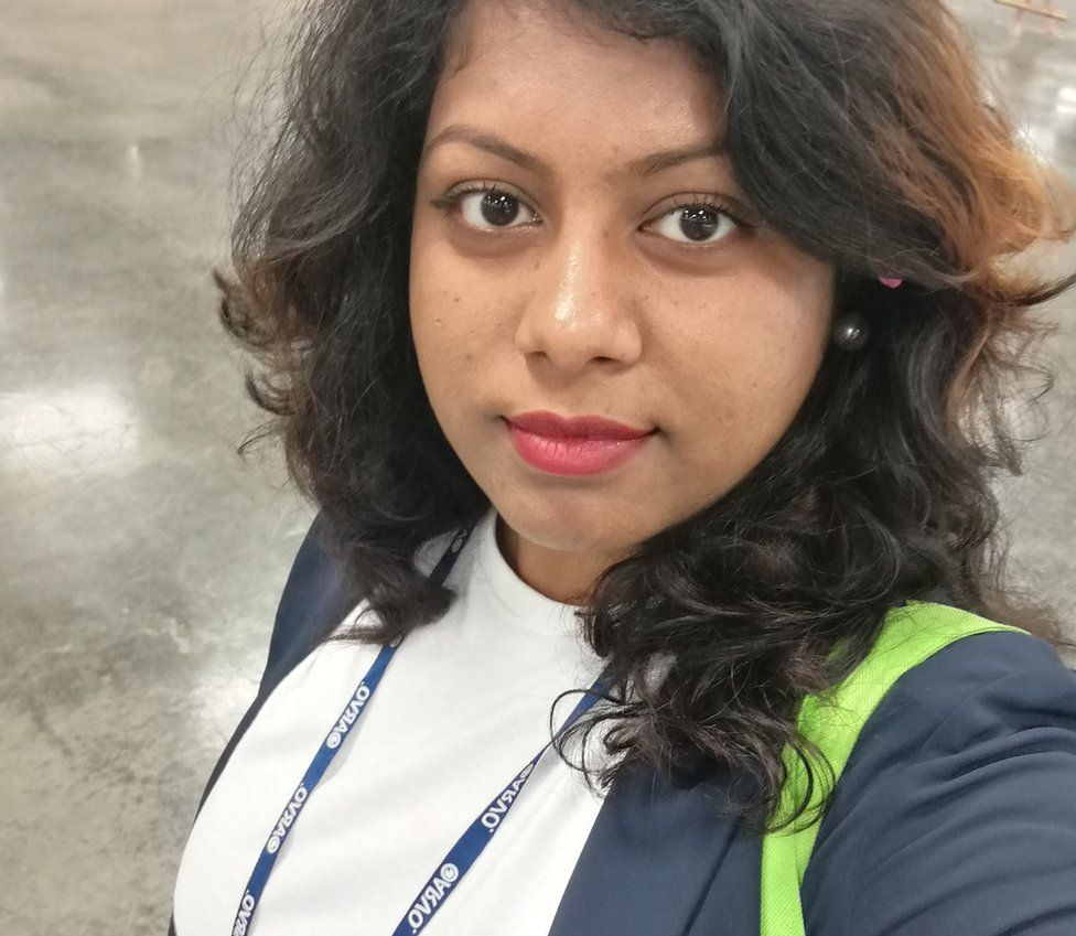 Najnin Sharmin is a third year PhD student specialising in optical imaging at University College Dublin, from Bangladesh.