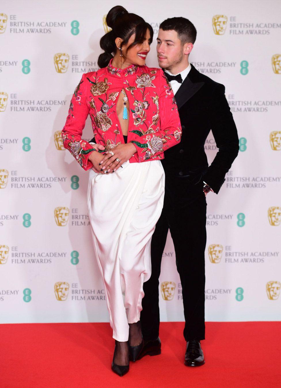Priyanka Chopra Jones and husband Nick Jonas