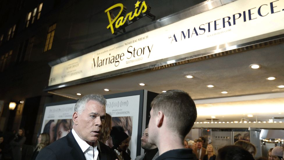 Ray Liotta (left) plays Jay in Marriage Story