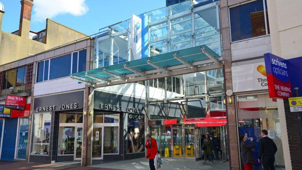 Nicholsons shopping centre