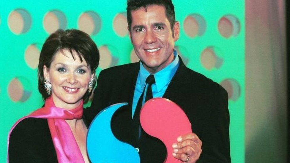 Cheryl Baker with Dale Winton