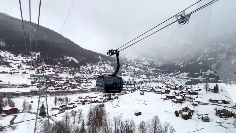 One of the new Grindelwald ski lifts