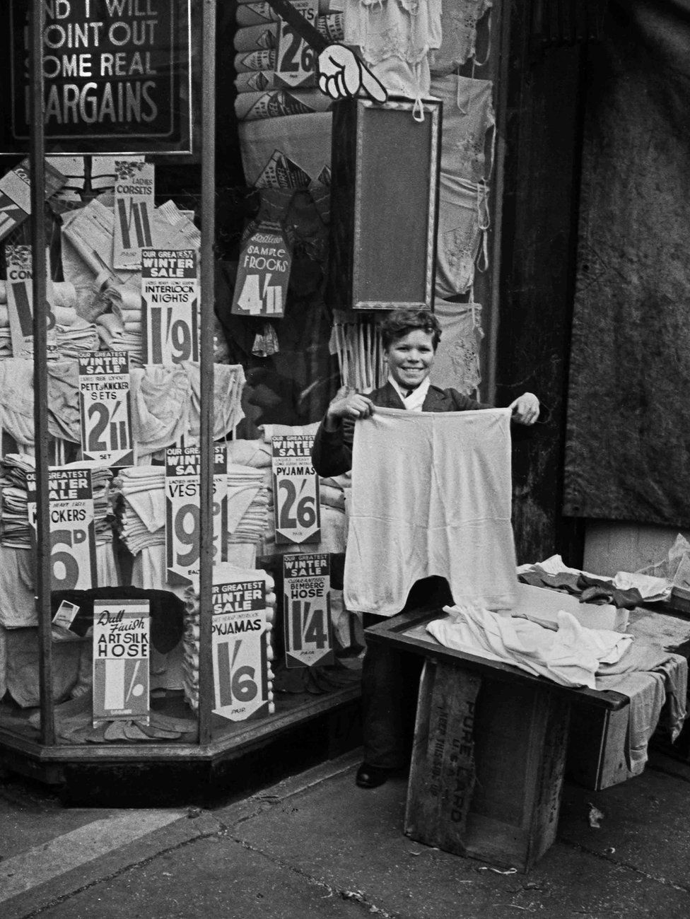 Haberdashers, Canning Town, London 1938