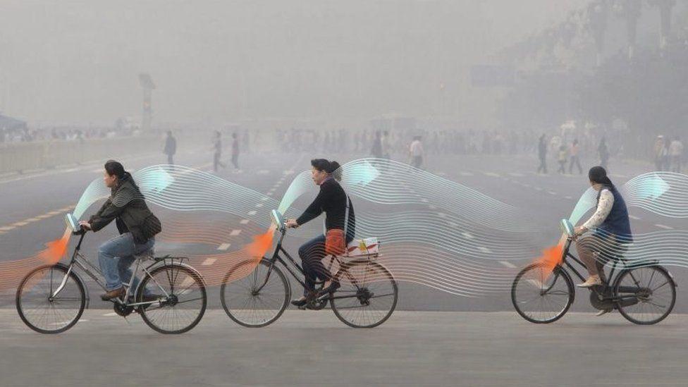 Smog-free bike