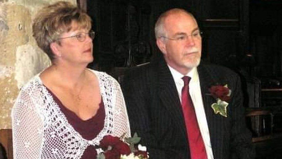 Maureen and Antony Taylor