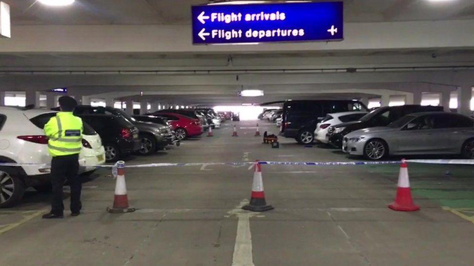 Terminal 2 car park, Manchester Airport