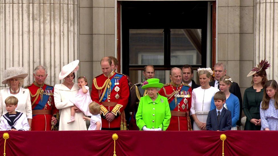 Royal Family at Buckingham Palace