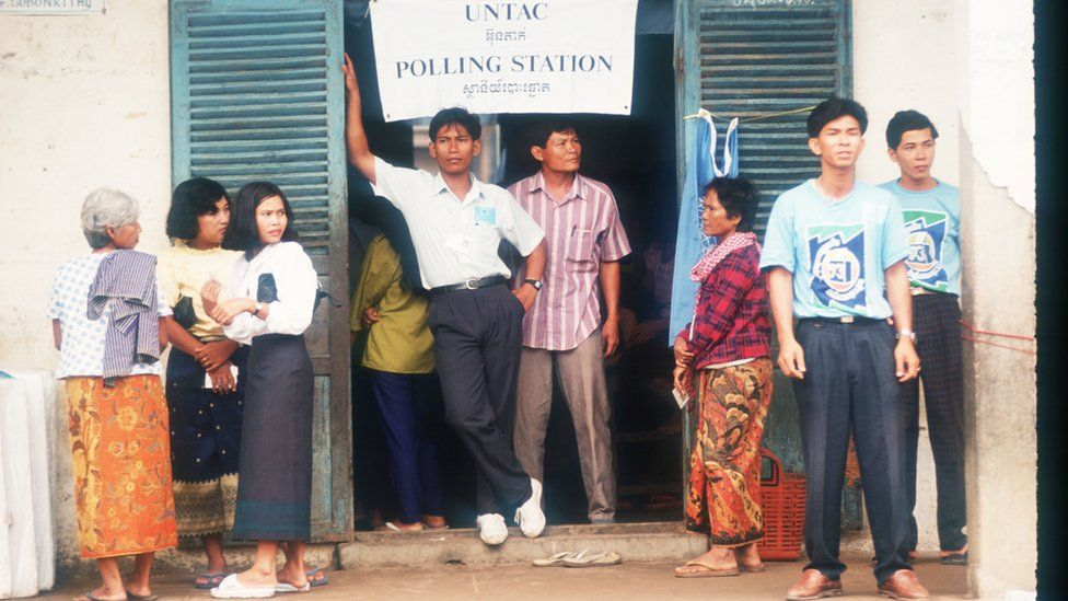 In 1993, the UN tried to bring democracy to Cambodia  Is that dream
