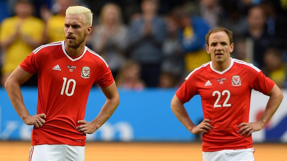 Aaron Ramsey a David Vaughan