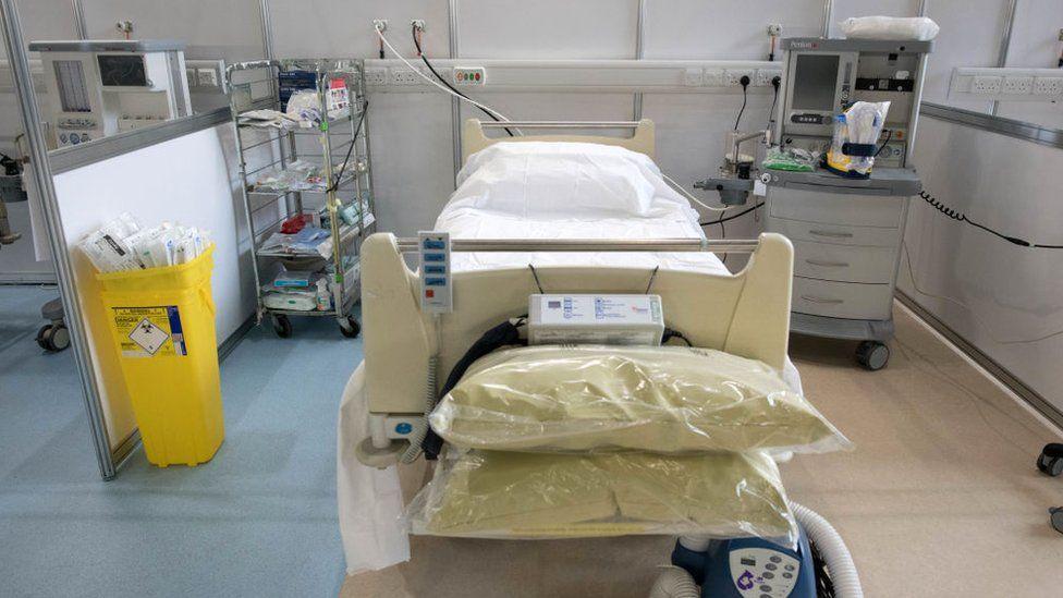 hospital bed