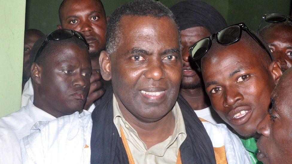 Mauritanian anti-slavery activist Biram Ould Dah Ould Abeid