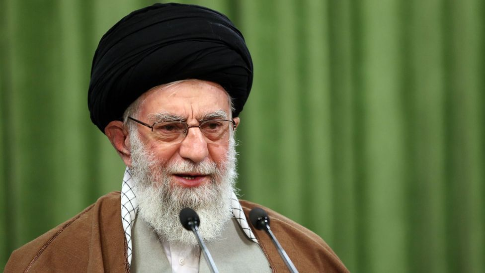 Iranian leader Ali Khamenei
