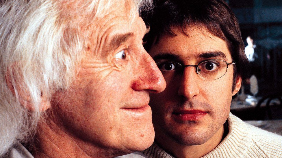 Publicity shot from the 2000 documentary When Louis Met Jimmy