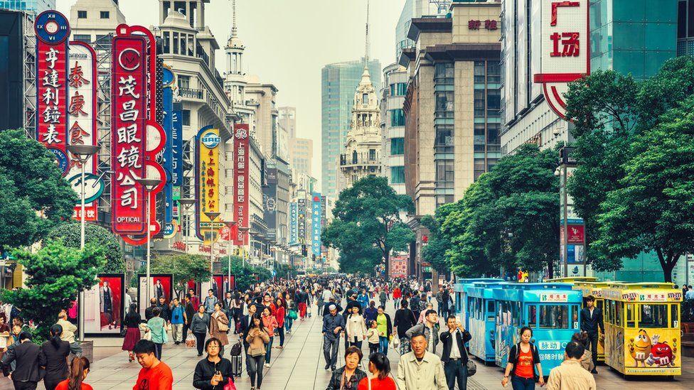 Chinese street scene
