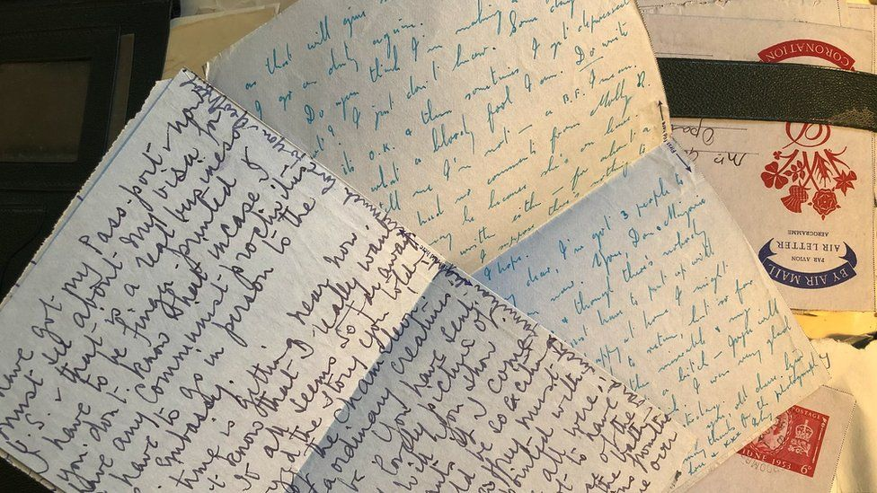 Letters by Rosie Blunt's grandmother