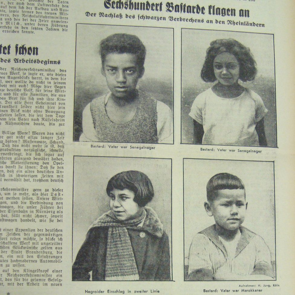Being black in Nazi Germany - BBC News